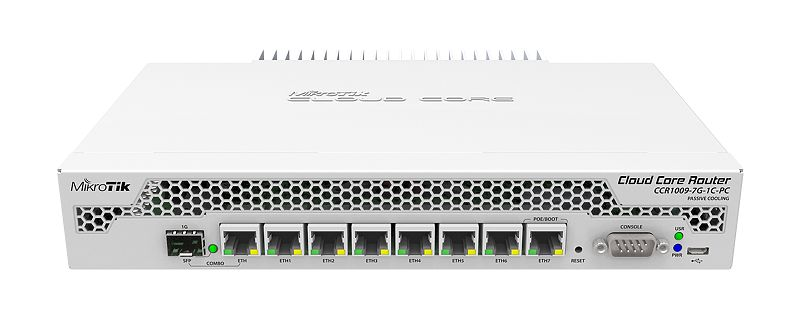 MikroTik Cloud 9xCore SFP PC Router